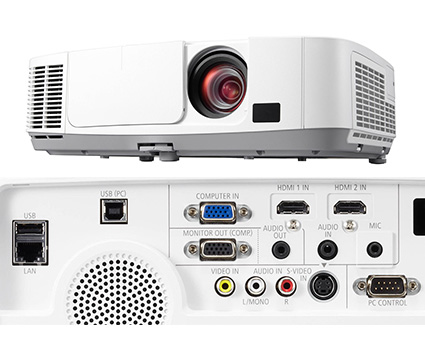 NEC Network Projector